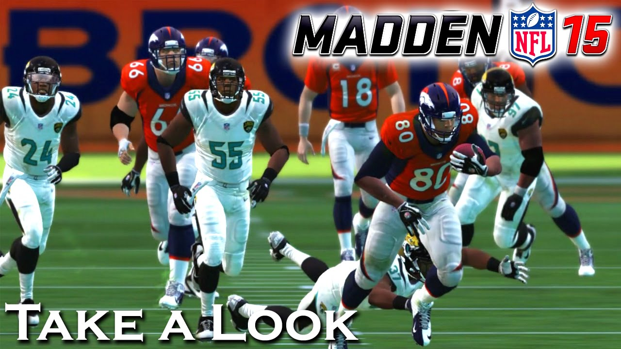 Madden NFL 15 - X360 PS3 Gameplay - 164.1KB
