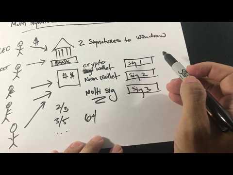 Blockchain - Use cases MultiSignature Wallets a brief intro