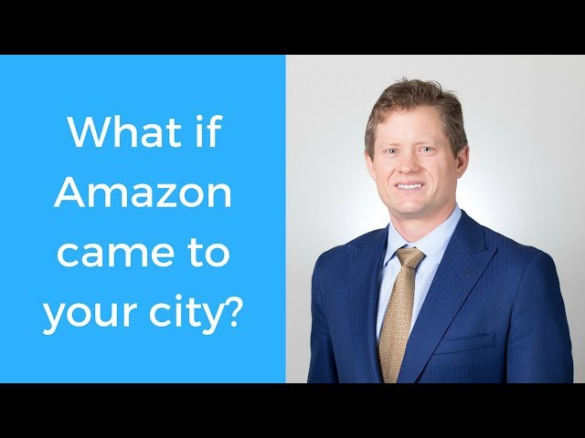 Realtor tip: What would you do if Amazon came to your city?