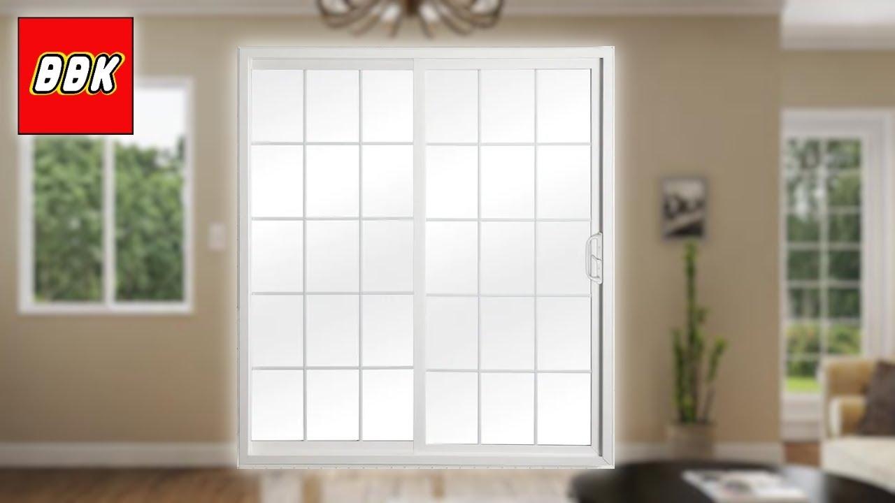 installing reliabilt double door sliding patio door and removing french doors from lowes