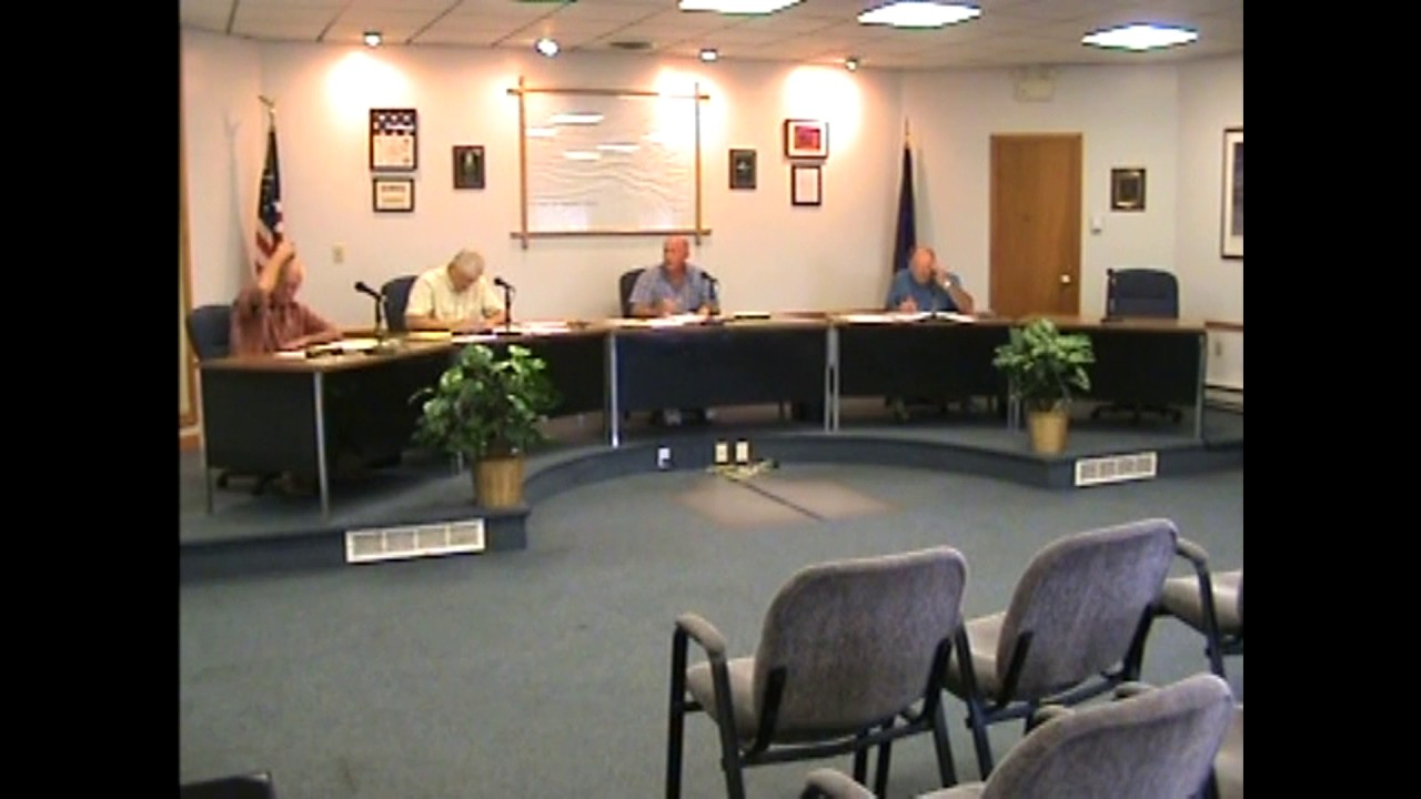 Rouses Point Village Board Meeting  7-19-10