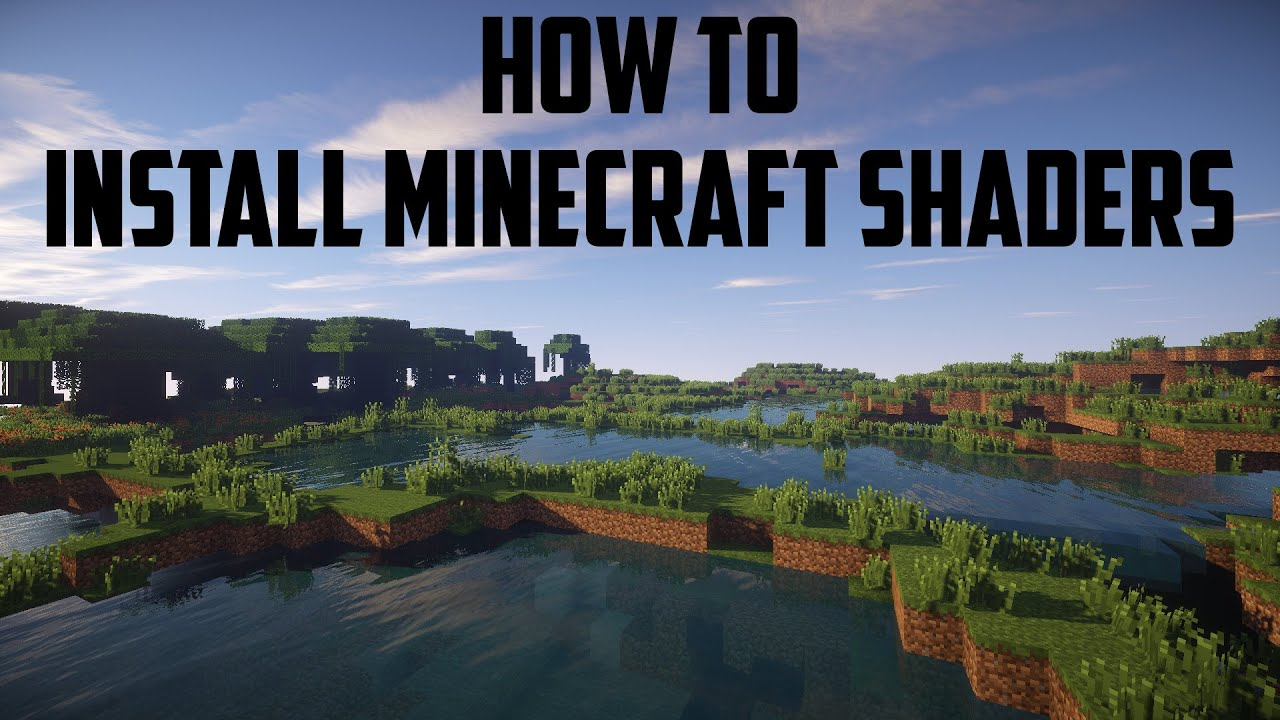 How To Install Minecraft Shaders 1710  YouTube