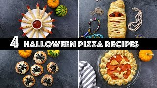 4 Spooky Halloween Pizza Ideas