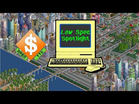 OpenTTD Low Spec Spotlight Part 1/2 The Free To Play Transport Simulator