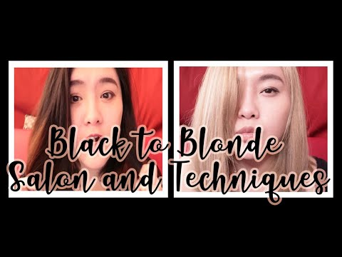 Black to Blonde in One Session Hair Transformation | PHILIPPINES | Hair Color Techniques 2019-2020