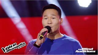 "Tuvshinbayar.G - ""Busgui min"" | Blind Audition | The Voice of Mongolia S2"