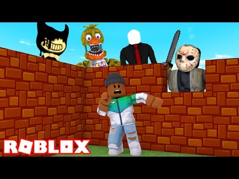 BUILD TO SURVIVE THE MONSTERS IN ROBLOX