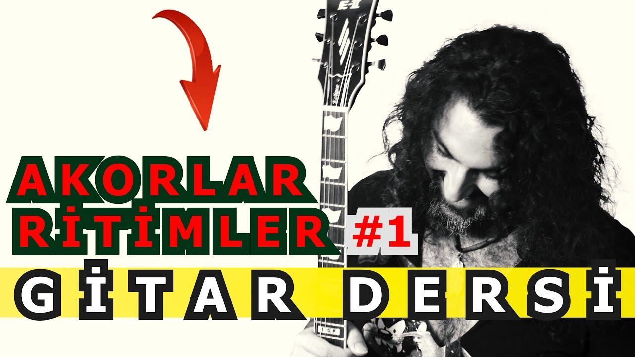 Selim Işık Gitar Dersi 105 - Temel Akorlar ve Ritimler 1