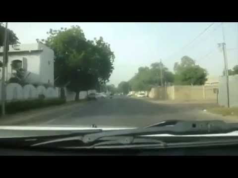 Driving in Chad