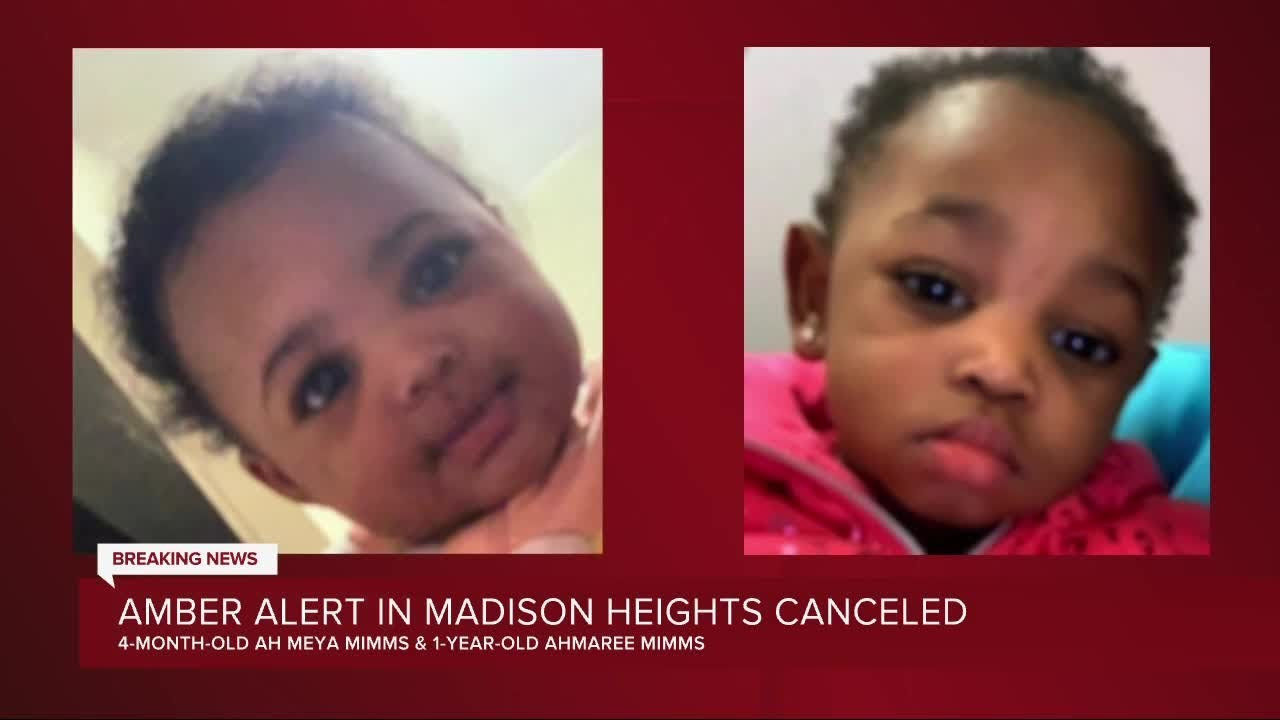 Ohio Amber Alert for 2-year-old canceled