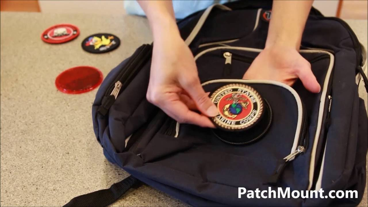 Velcro Patch Mount - Easy Install Demo - YouTube cbe7ca3b3bd