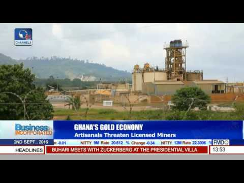 Business Incorporated: Licensed Gold Miners Threatened By Artisanals In Ghana