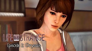 Life Is Strange - Episode 1: Chrysalis - Game Movie / All Cutscenes [Complete]