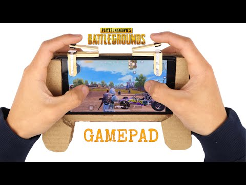 How to make PUBG Gaming Controller For Phones | Gamepad