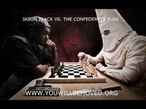 Jason Black Vs Confederate Flag Caller