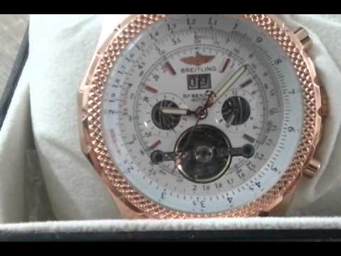 7d3566dded1 RELOGIO BREITLING - YouTube