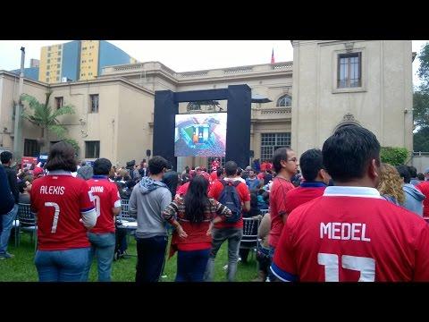 Reacción Final Copa América Chile 2015 en Lima Perú.