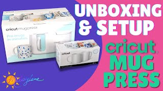 New Cricut Mug Press Unboxing and Setup | Melody Lane
