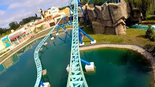 Pégase Express Front Row On Ride POV - Parc Astérix