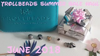 Trollbeads summer sale haul June 2018 +new in/outro