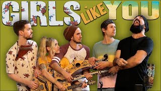 Download Lagu Girls Like You - Walk off the Earth (Maroon 5 Cover) Mp3