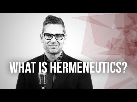 653. What Is Hermeneutics?