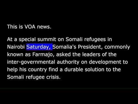VOA news for Sunday, March 26th, 2017