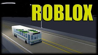 Playing Roblox-Pudding Busão