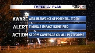 Weather Alert: Changing system through Christmas Eve