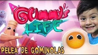 A Gummy's Life   Pelea de Gominolas de Colores   Juegos para niños