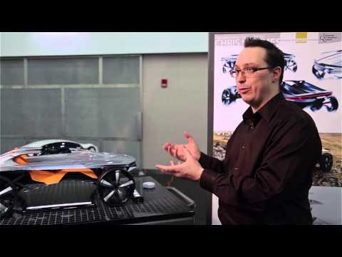 College For Creative Studies Detroit Ccs Plastics In Automotive Design Class Youtube