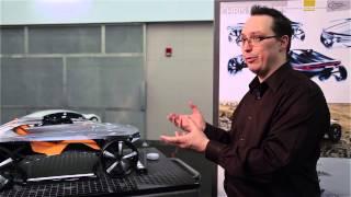 College for Creative Studies Detroit (CCS) Plastics in Automotive Design Class