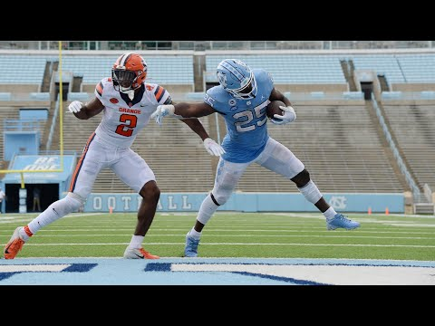 Video: UNC Football Pushes Past Syracuse, 31-6 - Highlights