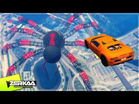GIANT SPIDER IN GTA 5! (GTA 5)