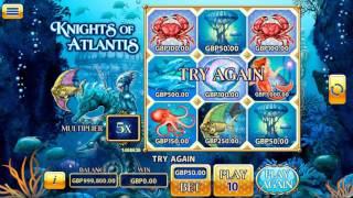 Онлайн скрэтч-карта Knights of Atlantis (Odobo)(В интернет-казино на платформе Odobo появилась онлайновая скрэтч-карта
