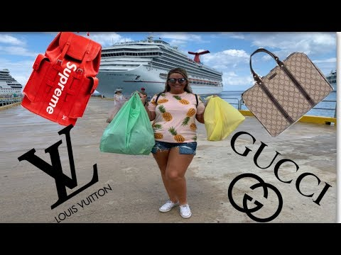 FAKE MARKET SPREE! (SUPREME, Louis Vuitton, GUCCI) Best place to get replica items