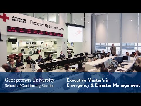 Master's in Emergency & Disaster Management at Georgetown University