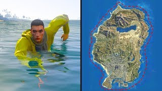 How Long Does It Take To Swim Around The Map in GTA 5?