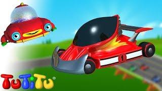 Voitures de course - Apprenez à construire des jouets TuTiTu | Une vidéo de plus pour les bébés