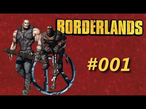 Let's play Borderlands DLC   Co-Op   #001: Venture Into The Bro-derlands
