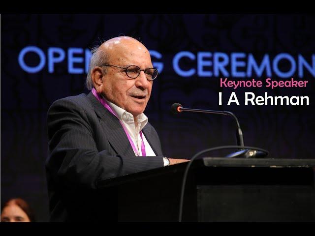 I A Rehman   Keynote Speaker   1st Women Conference   ACPKHI l #womensday