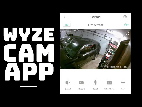 Wyze Cam App Features and Functionality