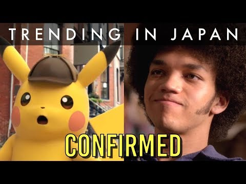 Pokemon Live-Action Movie Actor CONFIRMED (Great Detective Pikachu)