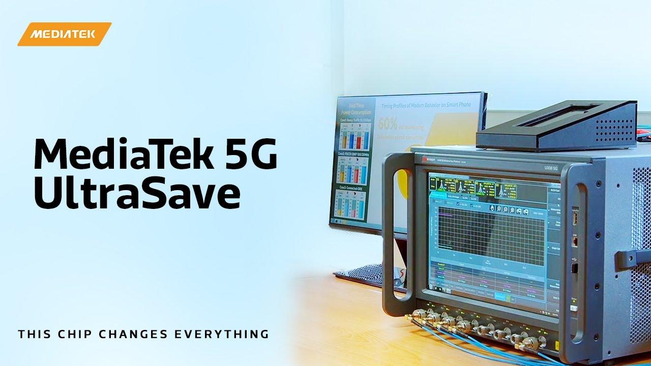 MediaTek 5G UltraSave: Demonstrating Best-in-class 5G Power-Efficiency