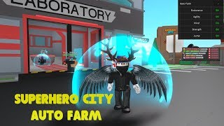 💲INFINITE STATS HACK💲 I ROBLOX SUPERHERO CITY!
