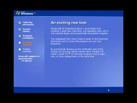 Windows XP - How To Perform A Clean Install