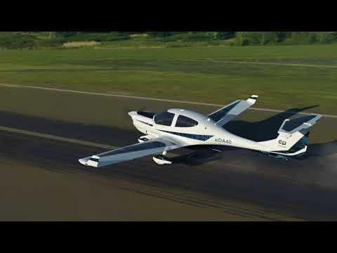 Diamond Aircraft eDA40 All-Electric Aircraft