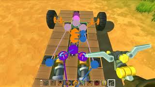 Scrap Mechanic   1#   AI Compact Following cars