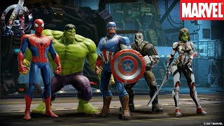 Top 10 Best Avengers Games for Android | Best Marvel Games 2018 [Droid Nation]