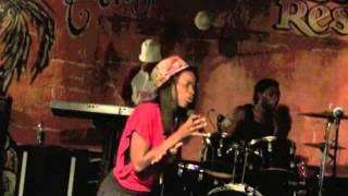 Jasmine V. Rowe - Rock Away (Beres Hammond cover) Live in Kingston